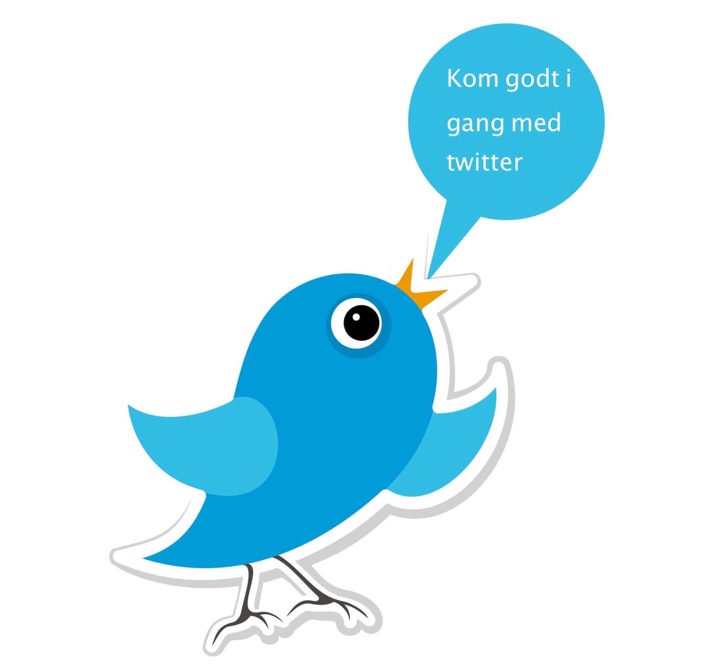 Sådan kommer du godt i gang med Twitter