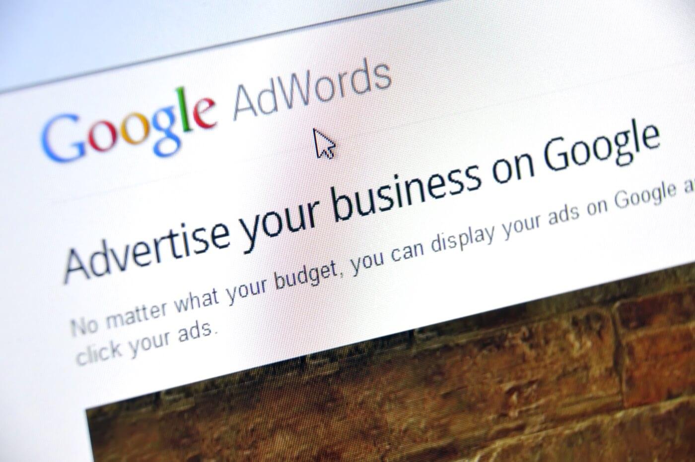 Det er hurtigt at komme i gang med Google Adwords