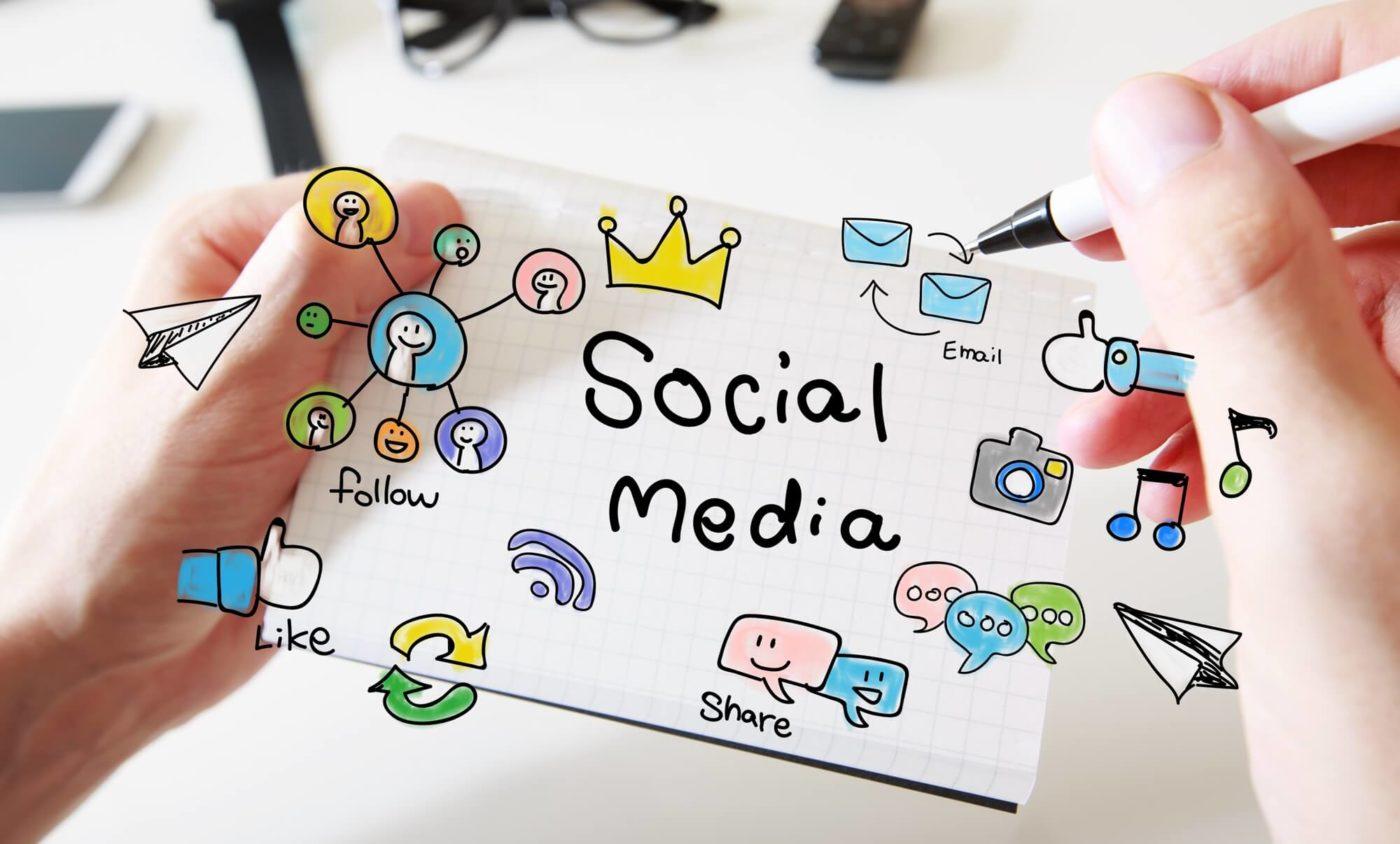 Ting folk elsker at dele på de sociale medier