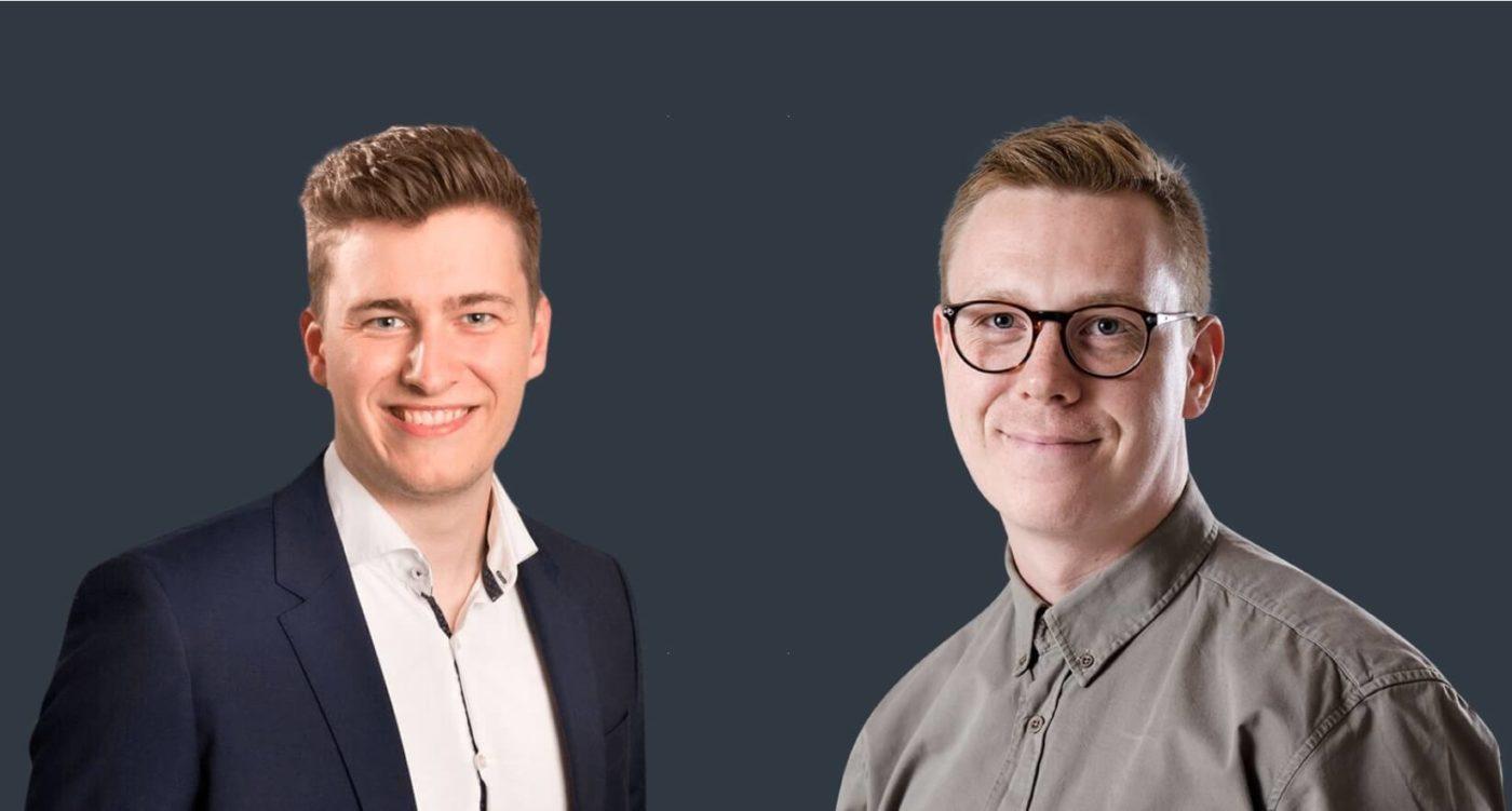 Halfdan Timm og Emil Kristensen