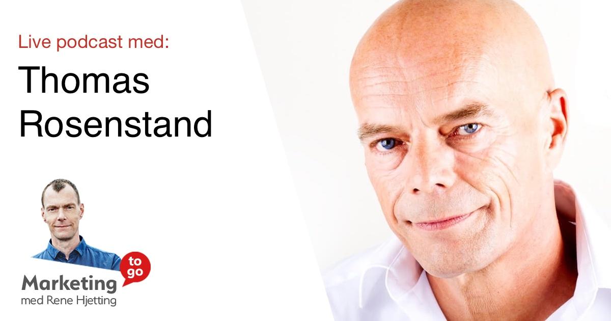 Live podcast med Thomas Rosenstand