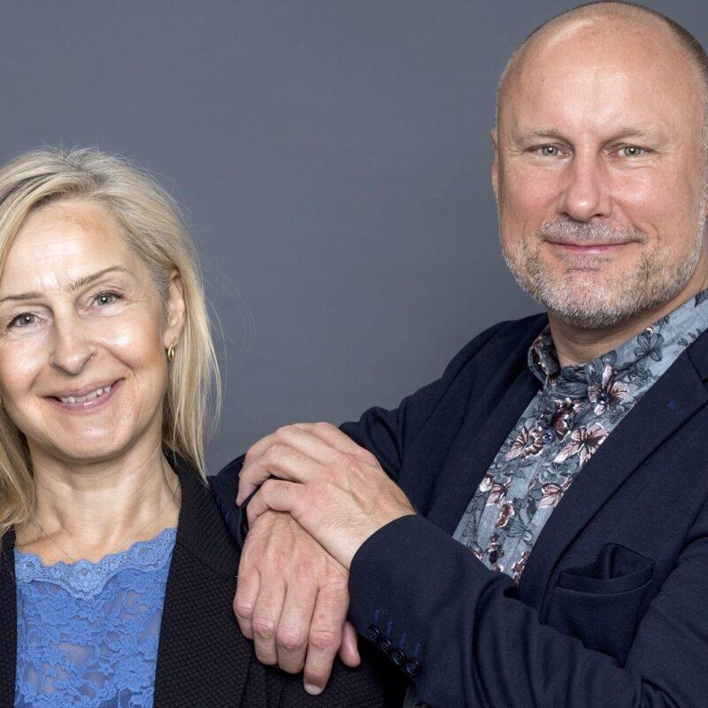 Eva Sachse og Leif Carlsen